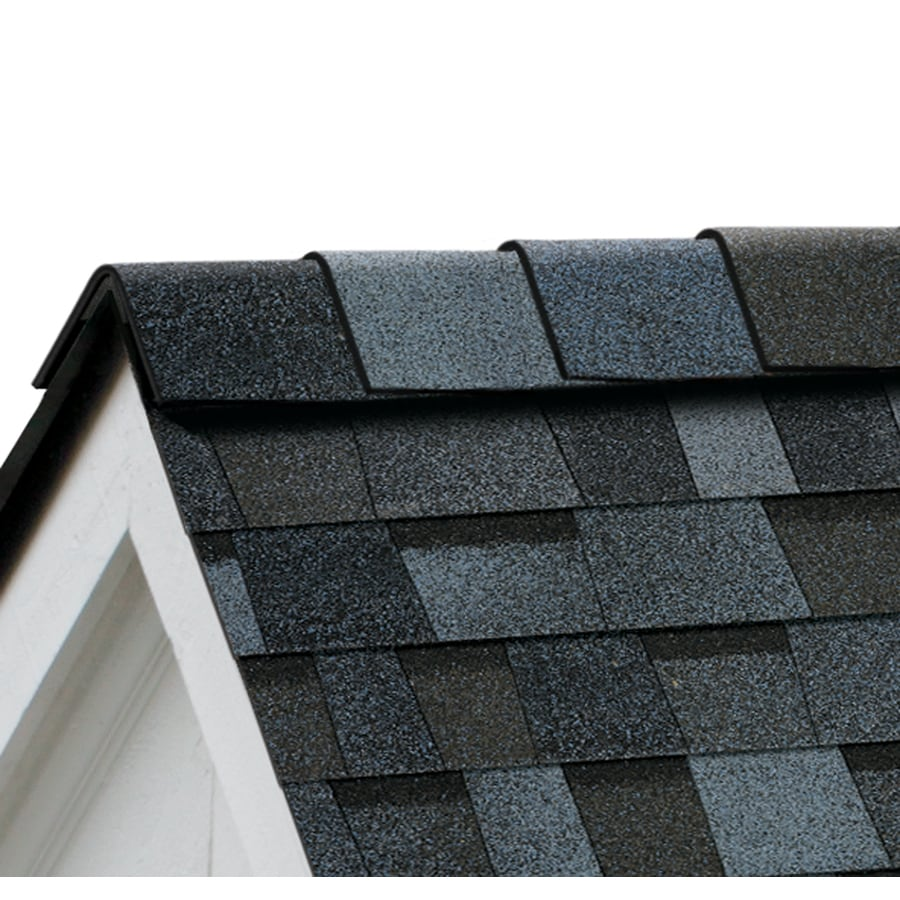 Owens Corning High Ridge 21.3-lin ft Pacific Wave Hip and Ridge Roof Shingles