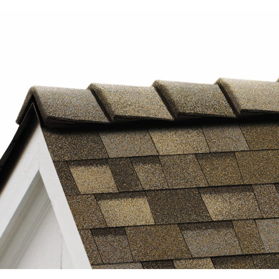 Owens Corning DecoRidge 20-lin ft Sand Dune Hip and Ridge Roof Shingles
