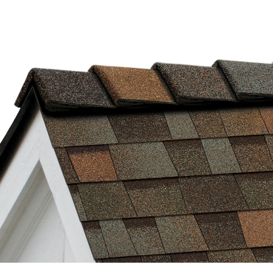 Owens Corning DecoRidge 20-lin ft Aged Copper Hip and Ridge Roof Shingles