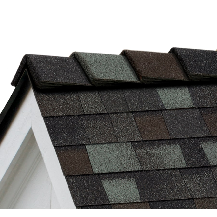 Owens Corning DecoRidge 20-lin ft Storm Cloud Hip and Ridge Roof Shingles