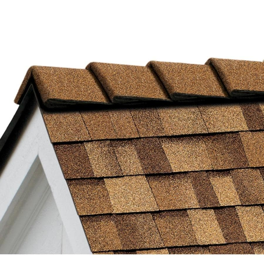 Owens Corning DecoRidge 20-lin ft Desert Tan Hip and Ridge Roof Shingles