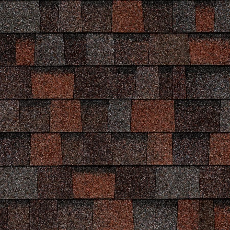 Owens Corning TruDefinition Duration Designer 32.8-sq ft Merlot Laminated Architectural Roof Shingles