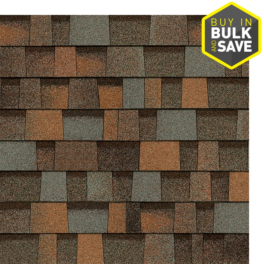 Owens Corning Trudefinition Duration Designer 32 8 Sq Ft Aged Copper Laminated Architectural Roof Shingles