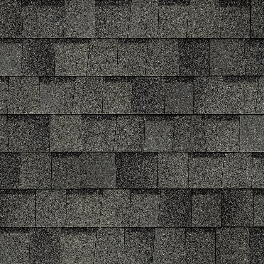Owens Corning TruDefinition Duration 32.8-sq ft Williamsburg Gray Laminated Architectural Roof Shingles