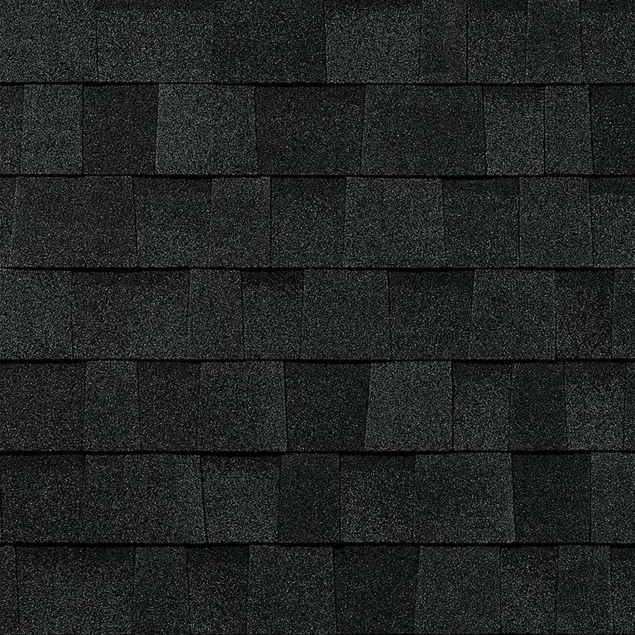 Owens Corning Trudefinition Duration Storm 32.8-sq ft Onyx Black Laminated Architectural Roof Shingles