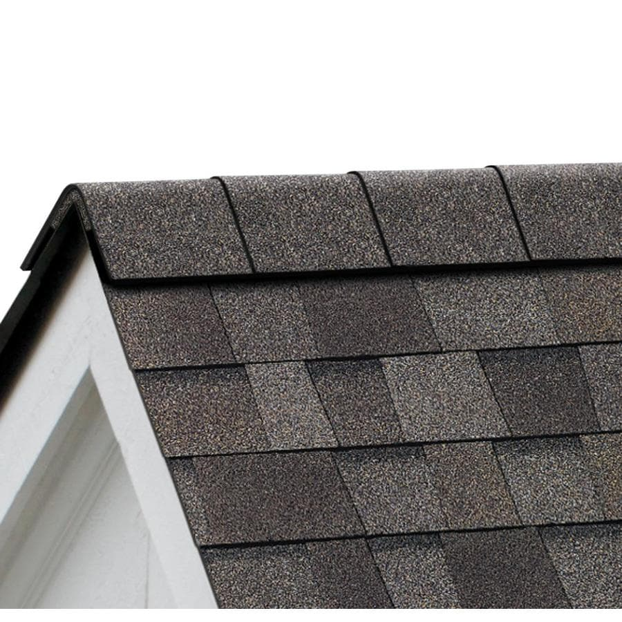 Owens Corning ProEdge STORM 33-lin ft Driftwood Hip and Ridge Roof Shingles