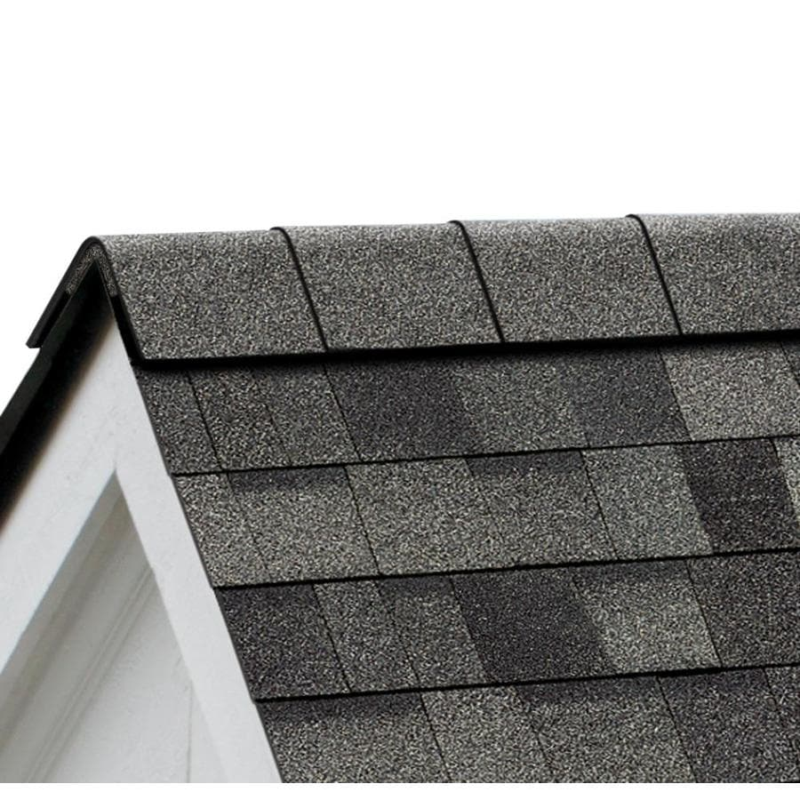 Owens Corning ProEdge STORM 33-lin ft Estate Gray Hip and Ridge Roof Shingles