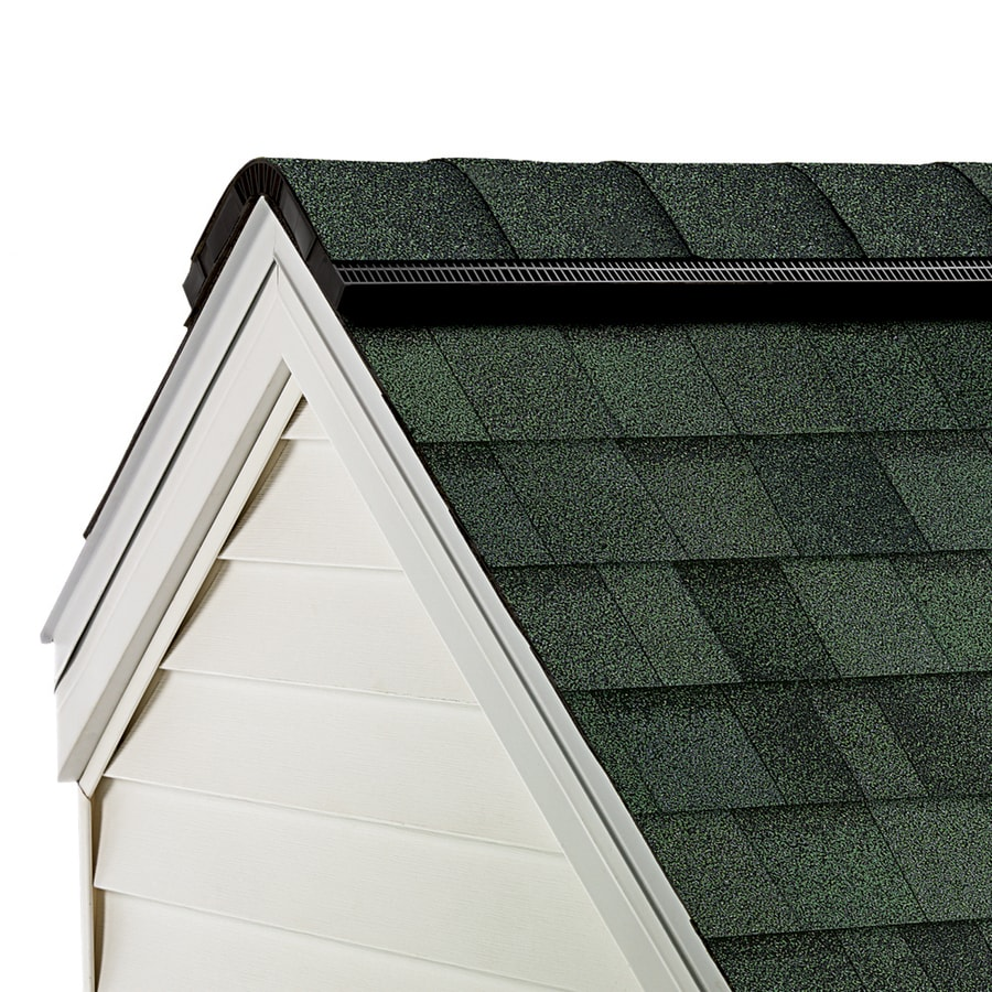 Shop Owens Corning Proedge 33 Lin Ft Chateau Green Hip And