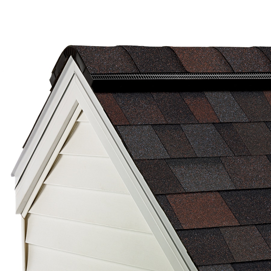Owens Corning ProEdge 33-lin ft Merlot Hip and Ridge Roof Shingles
