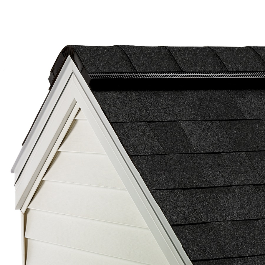 Owens Corning Proedge 33 Lin Ft Onyx Black Hip And Ridge Roof Shingles