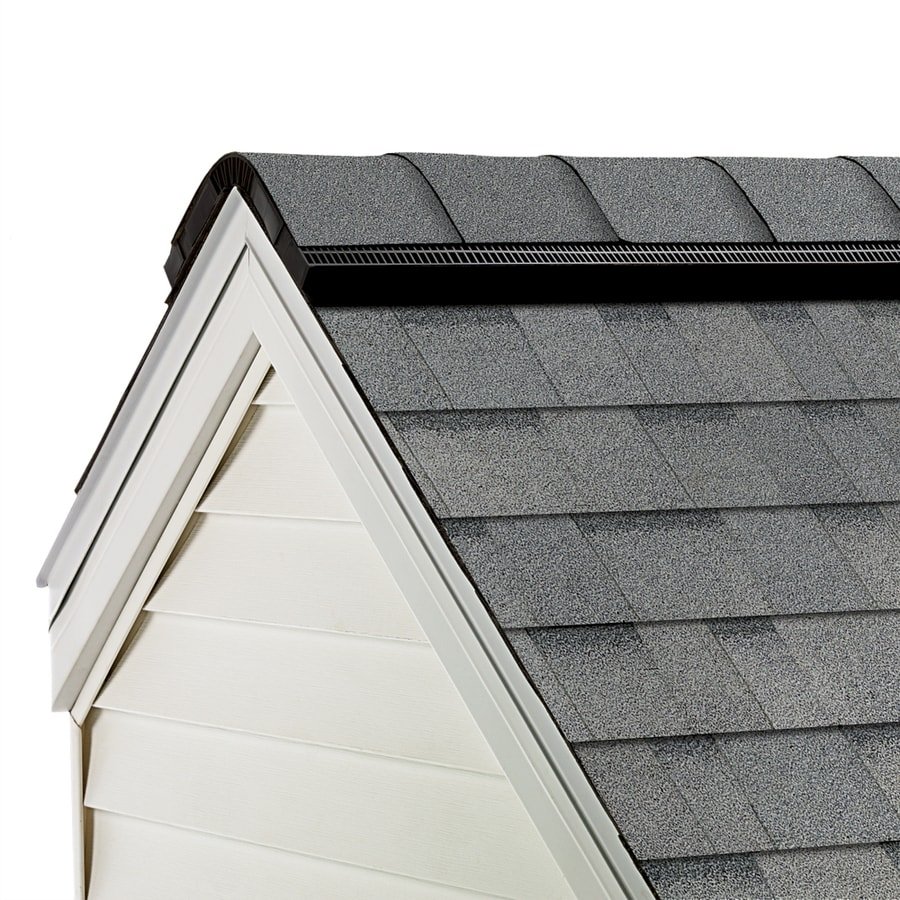 Owens Corning ProEdge STORM 33-lin ft Antique Silver Hip and Ridge Roof Shingles