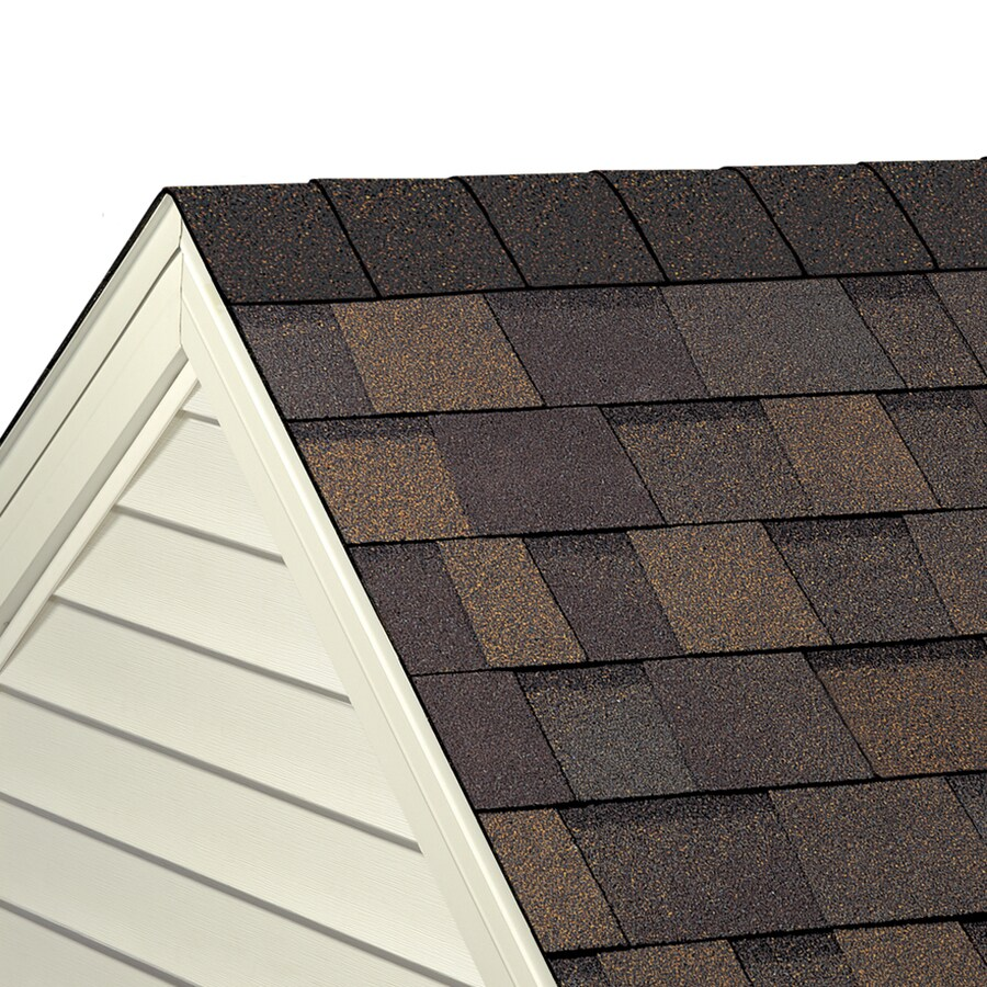 Owens Corning WeatherGuard HP 33-lin ft Teak Hip and Ridge Roof Shingles