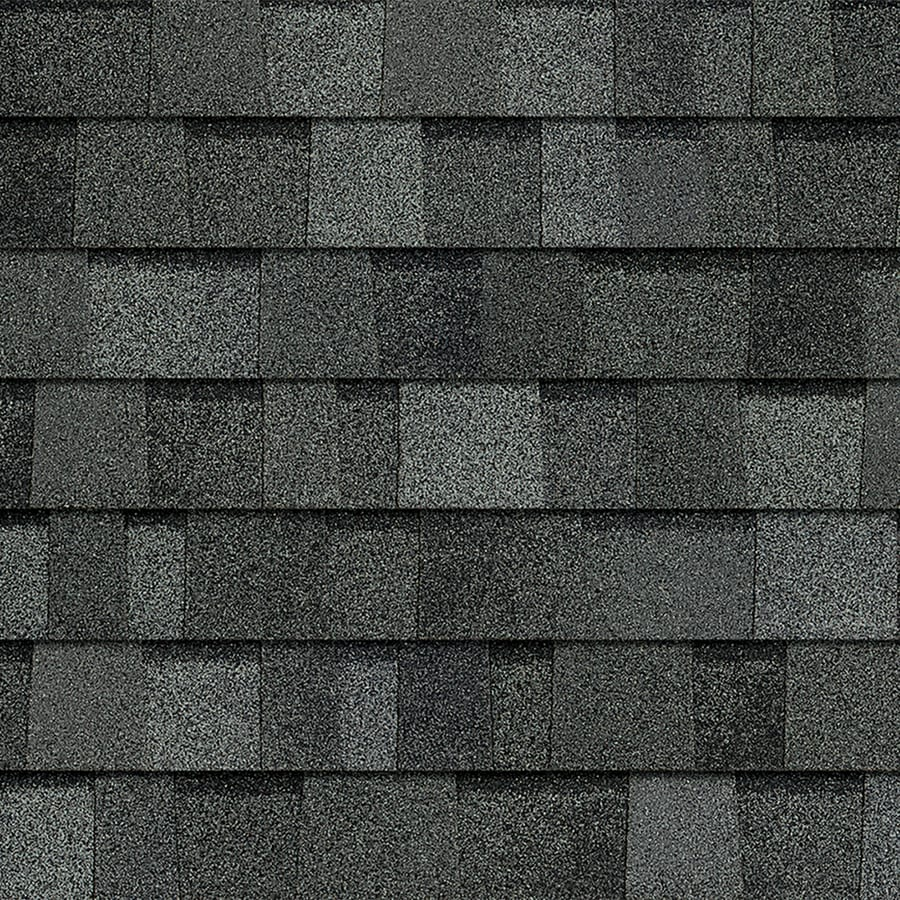 Owens Corning TruDefinition Oakridge 32.8-sq ft Estate Gray Laminated Architectural Roof Shingles