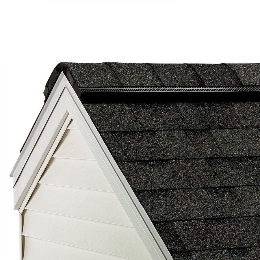 Owens Corning ProEdge 33-lin ft Peppermill Gray Hip and Ridge Roof Shingles