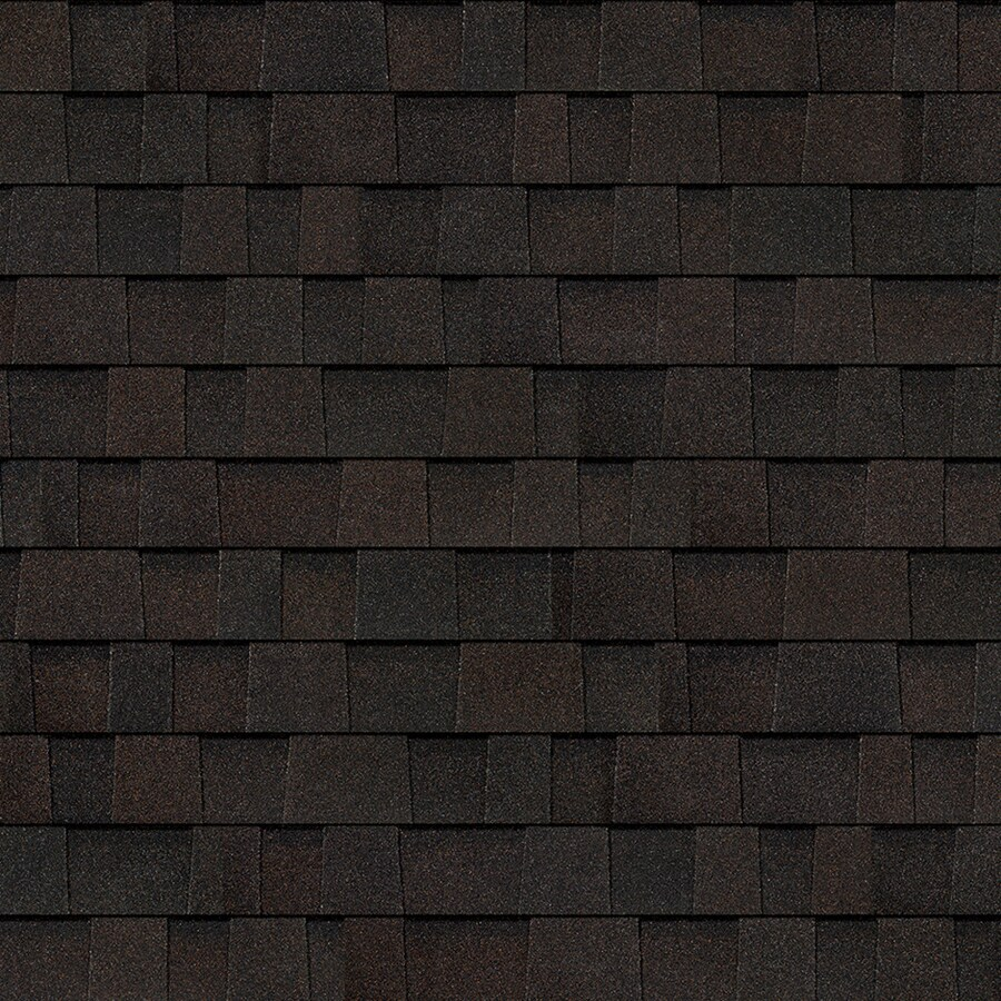 Owens Corning Oakridge 32.8-sq ft Artisan Black Walnut Laminated Architectural Roof Shingles