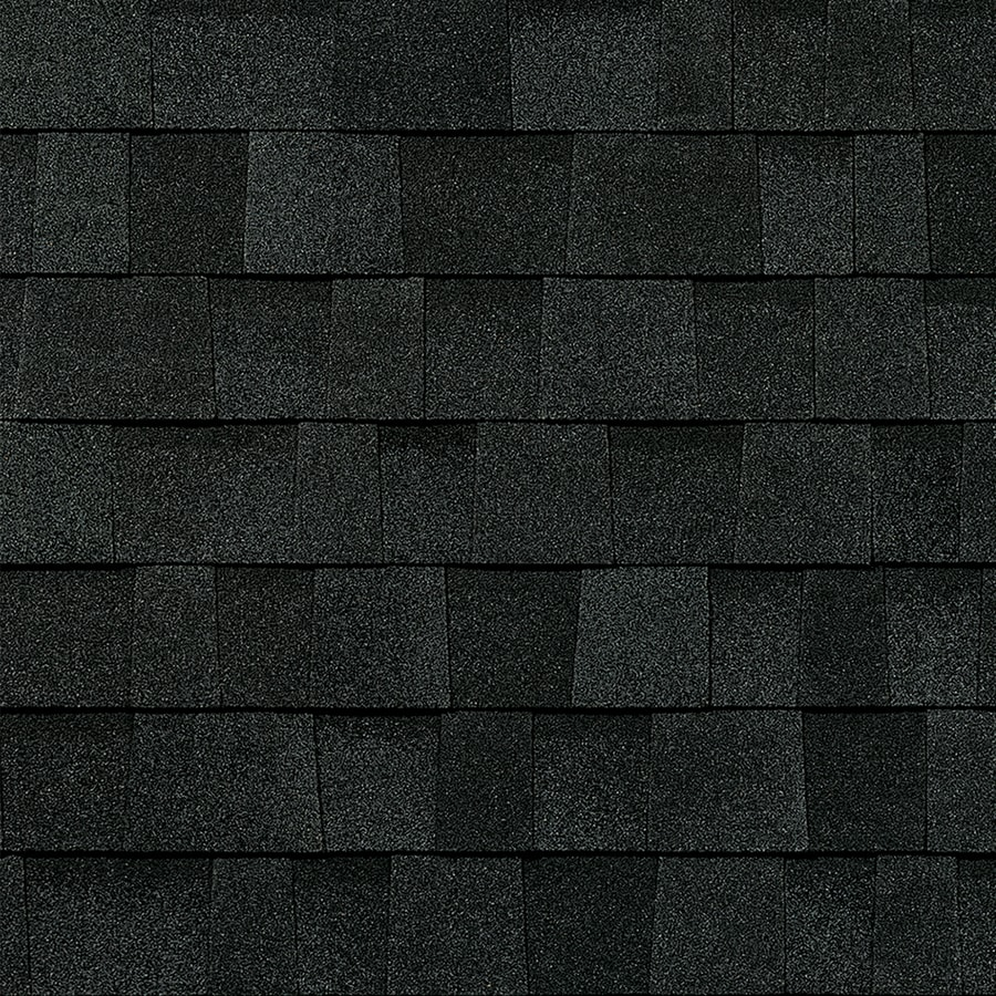 Owens Corning Trudefinition Oakridge 32.8-sq ft Onyx Black Laminated Architectural Roof Shingles