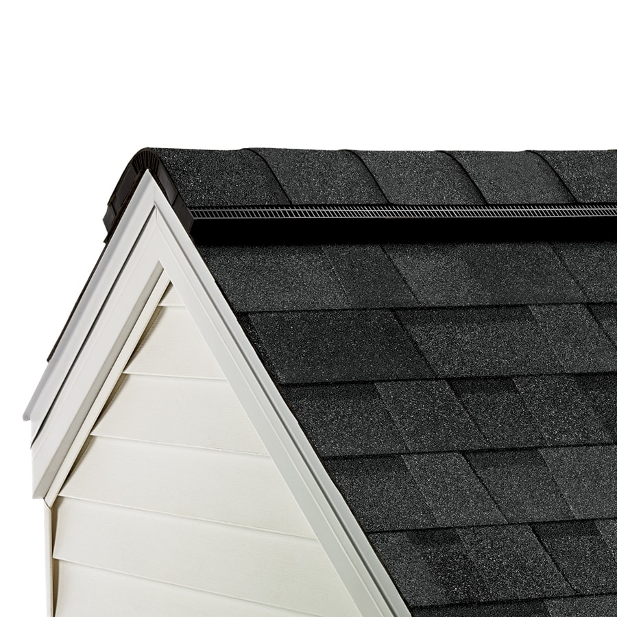 Owens Corning ProEdge 33-lin ft Twilight Black Hip and Ridge Roof Shingles