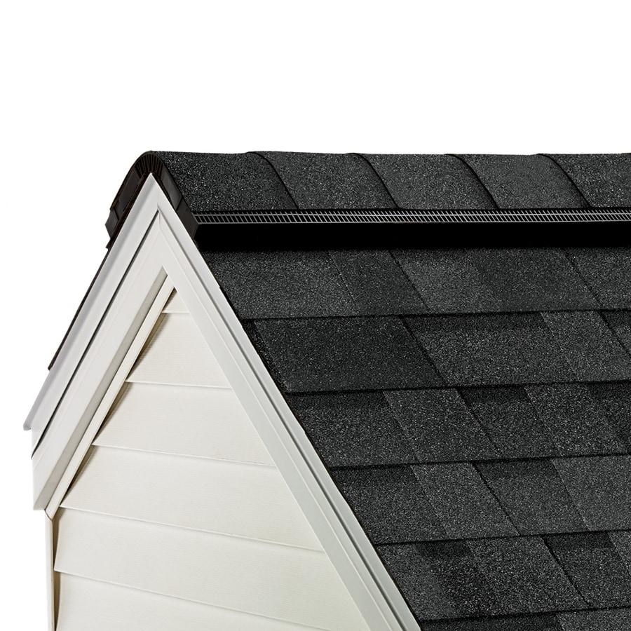 Owens Corning ProEdge 33-lin ft Artisan Twilight Black Hip and Ridge Roof Shingles