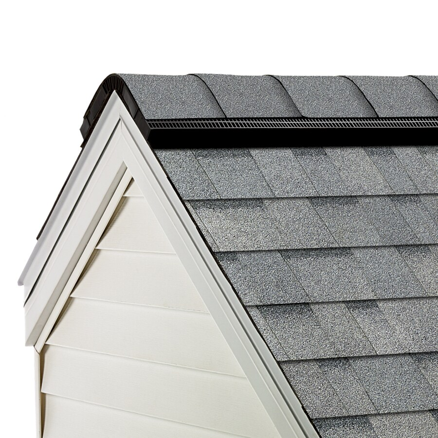 Owens Corning WeatherGuard HP 33-lin ft TruDef Antique Silver Hip and Ridge Roof Shingles