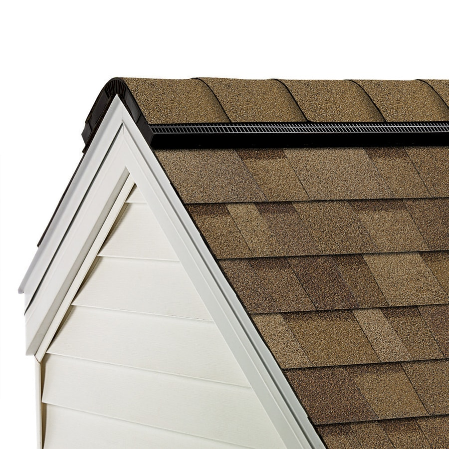 Owens Corning WeatherGuard 33-lin ft Trudef Desert Tan Hip and Ridge Roof Shingles