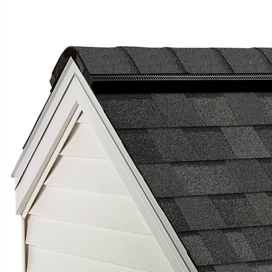 Owens Corning WeatherGuard HP 33-lin ft TruDefinition Estate Gray Hip and Ridge Roof Shingles