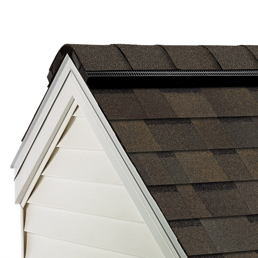 Owens Corning TruDefinition WeatherGuard-HP 33-lin ft TruDefinition Teak Hip and Ridge Roof Shingles