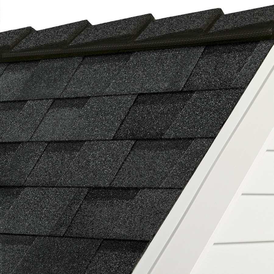 Owens Corning DecoRidge 20-lin ft Artisan twilight black Hip and Ridge Roof Shingles