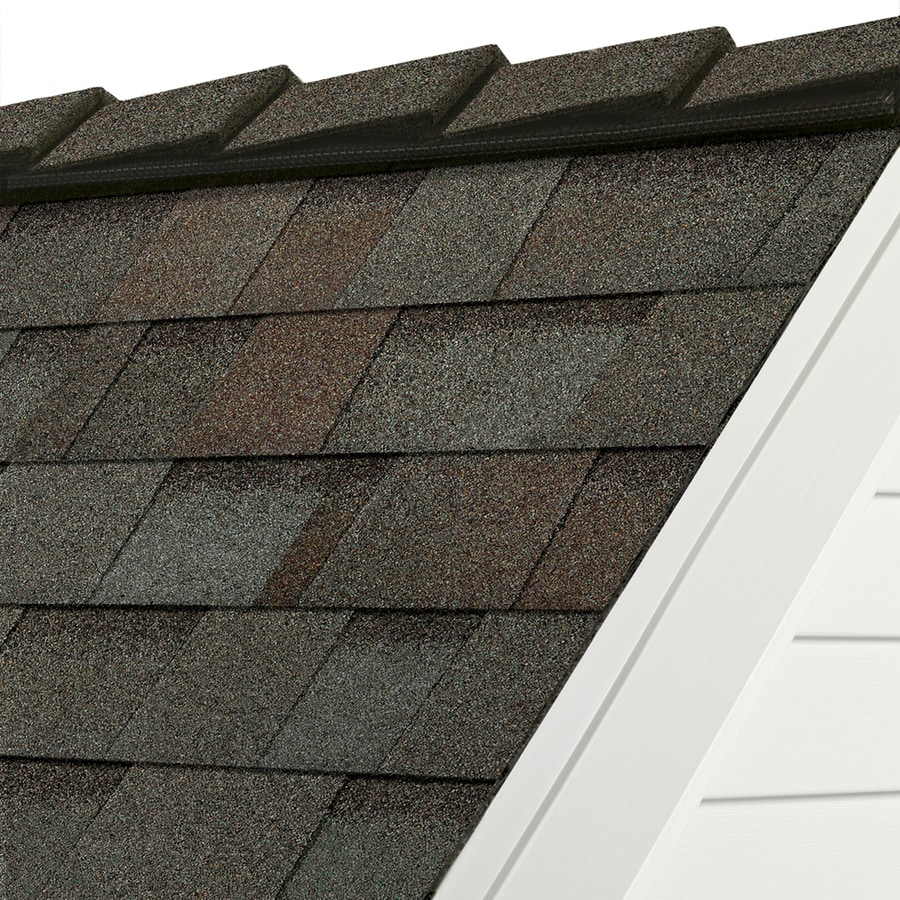 Owens Corning DecoRidge 20-lin ft Artisan Woodland Path Hip and Ridge Roof Shingles