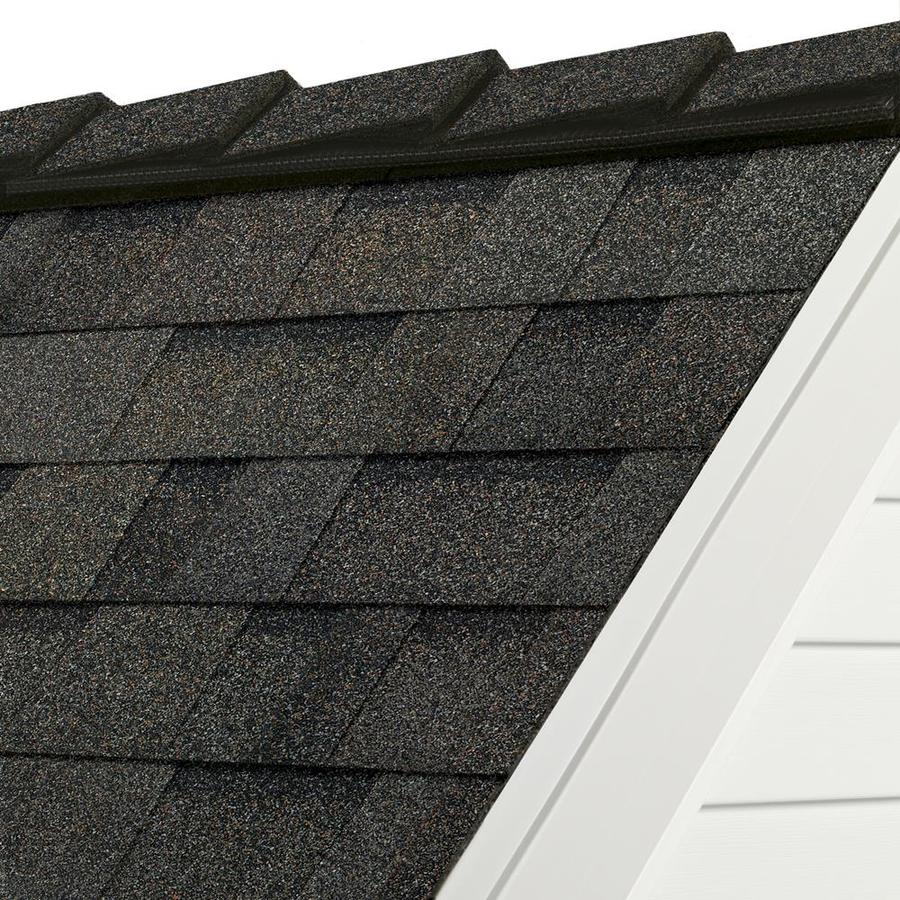Owens Corning DecoRidge 20-lin ft Peppermill Gray Hip and Ridge Roof Shingles