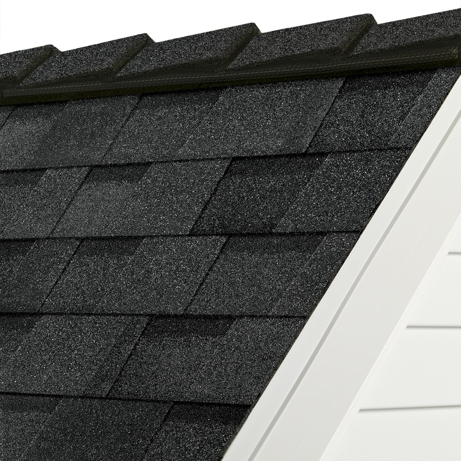 Owens Corning DecoRidge 20-lin ft Artisan Twilight Black Hip and Ridge Roof Shingles