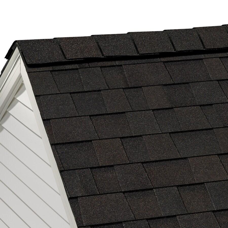 Owens Corning Highridge 21.3-lin ft Artisan Black Walnut Hip and Ridge Roof Shingles