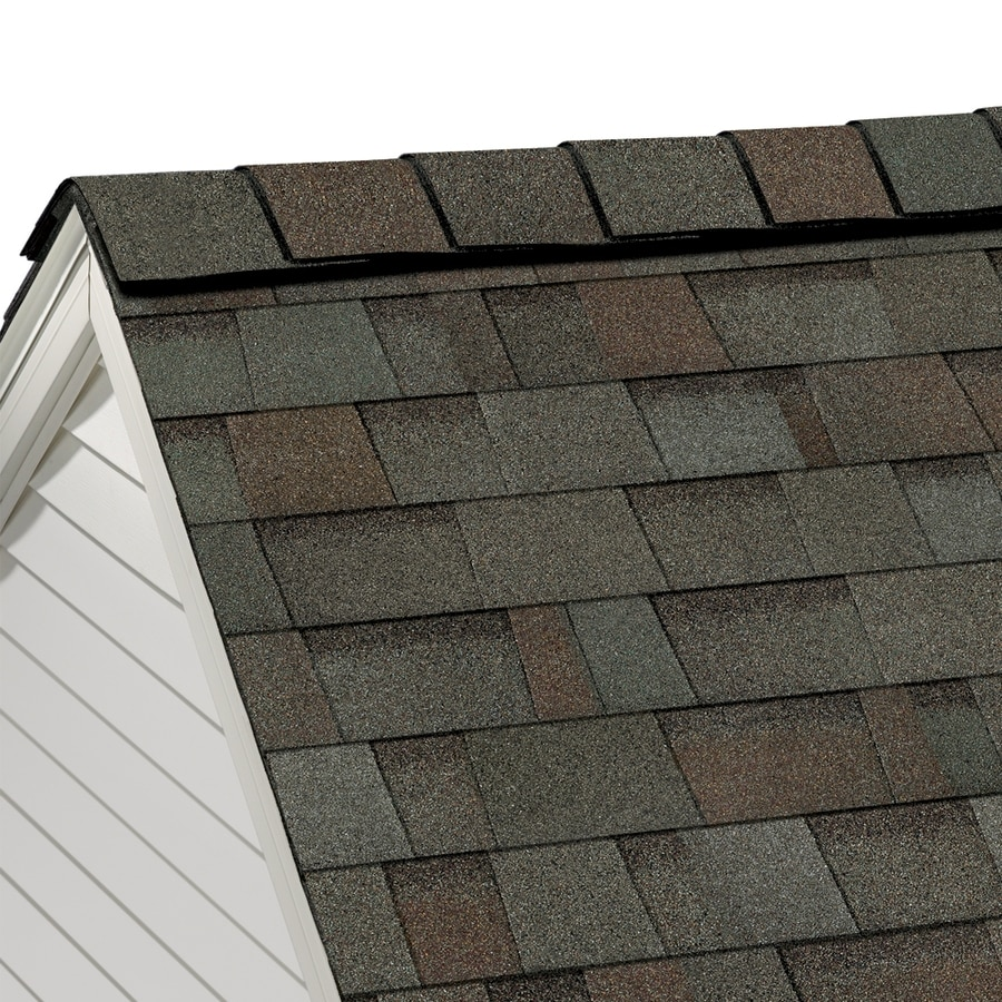 Owens Corning Highridge 21.3-lin ft Artisan Woodland Path Hip and Ridge Roof Shingles