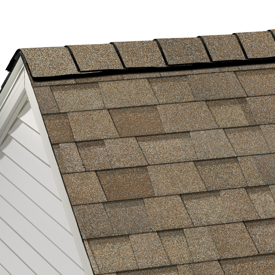 Owens Corning HighRidge 21.3-lin ft Artisan Sand Castle Hip and Ridge Roof Shingles