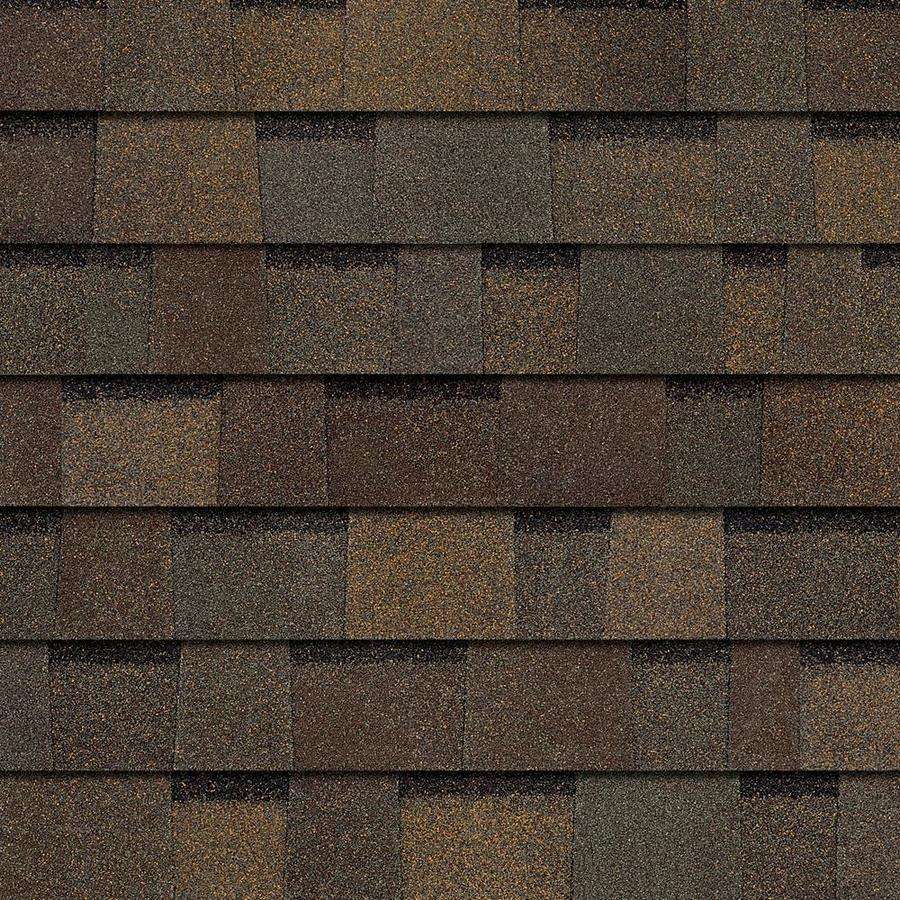 Owens Corning TruDefinition Weatherguard-HP 33-lin ft Teak Laminated Architectural Roof Shingles