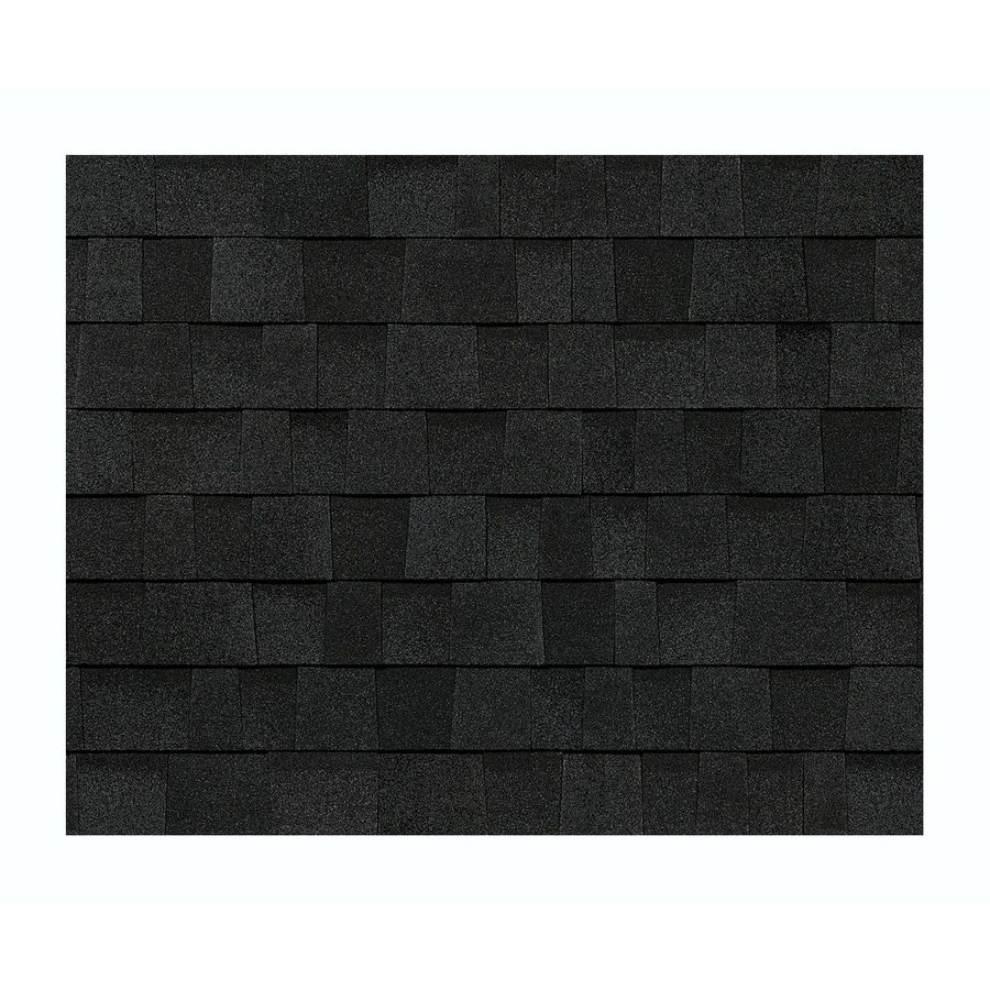 black architectural shingles. Modren Shingles Owens Corning TruDefinition WeatherGuardHP 328sq Ft Onyx Black Laminated  Architectural Roof Shingles To A