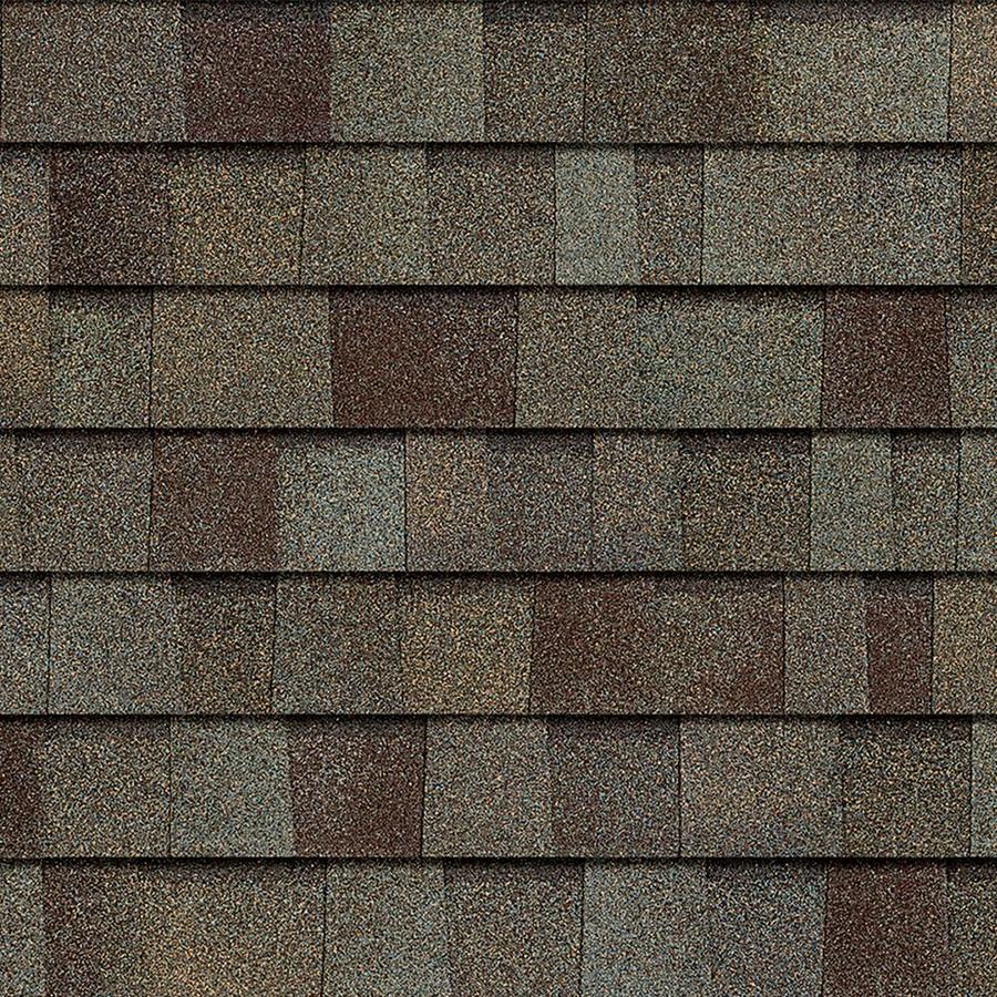 Owens Corning TruDefinition WeatherGuard-HP 32.8-sq ft Driftwood Laminated Architectural Roof Shingles