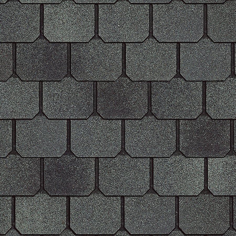 Owens Corning Devonshire 33.33-sq ft Castle Architectural 5-Tab Roof Shingles
