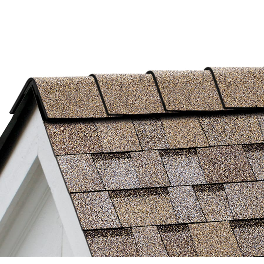Owens Corning DuraRidge 20-lin ft Amber Hip and Ridge Roof Shingles
