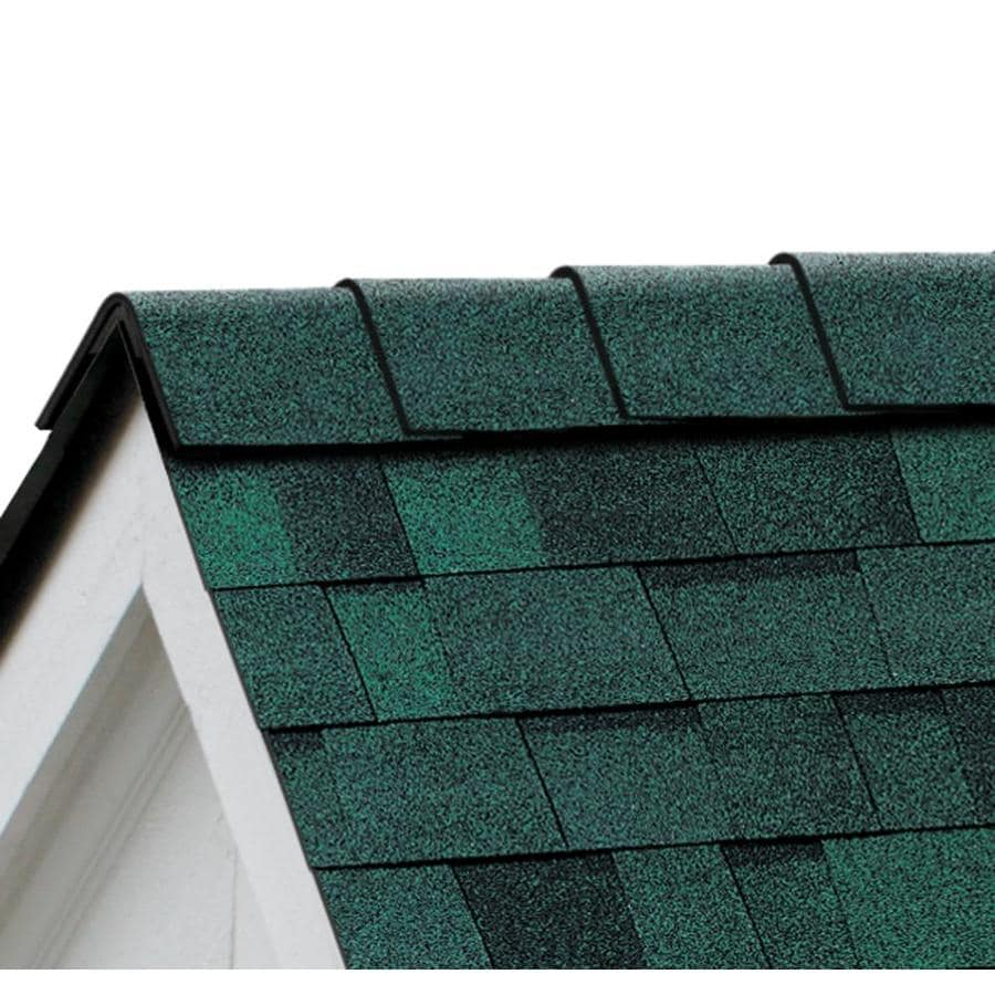 Owens Corning DuraRidge 20-lin ft Chateau Green Hip and Ridge Roof Shingles