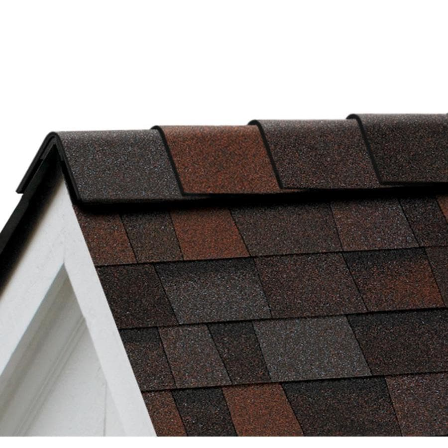 Owens Corning DuraRidge 20-lin ft Merlot Hip and Ridge Roof Shingles