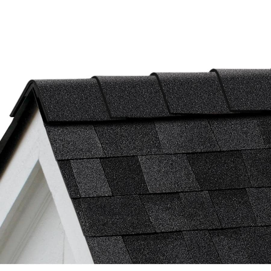 Owens Corning DuraRidge 20-lin ft Onyx Black Hip and Ridge Roof Shingles