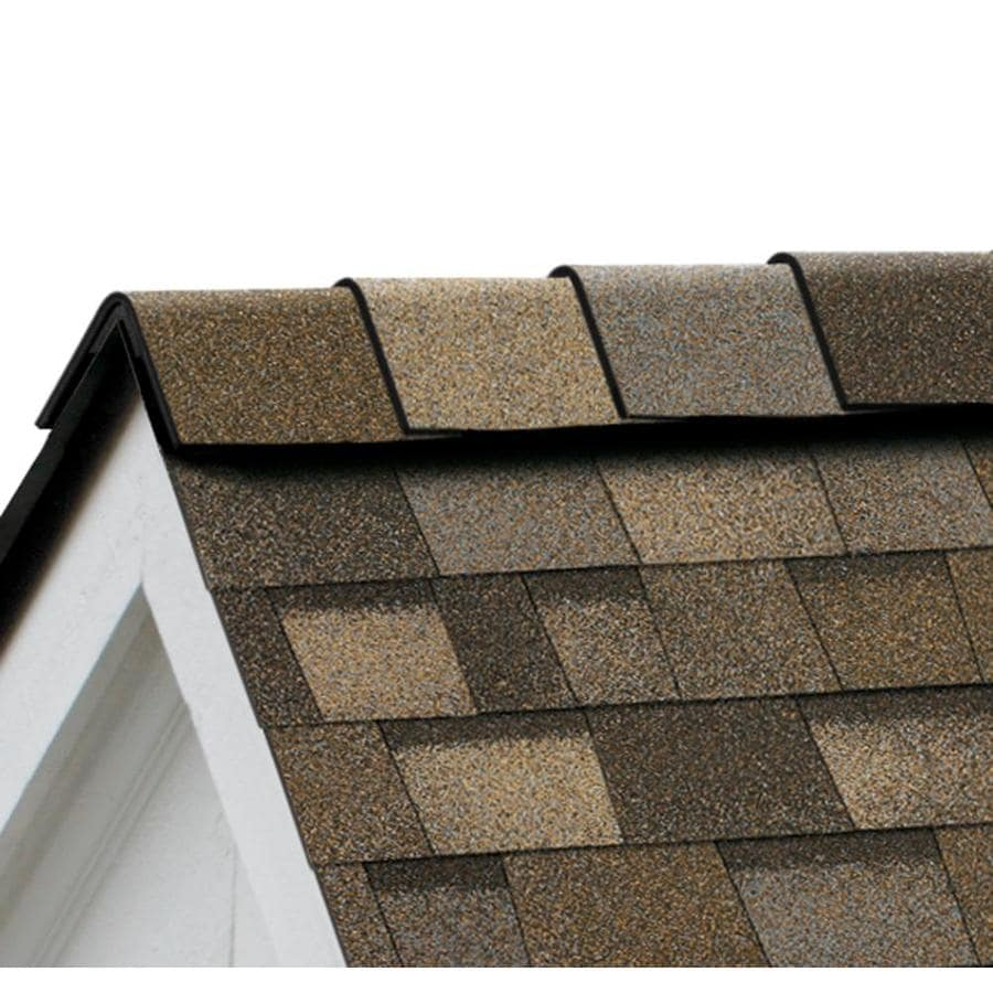Owens Corning DuraRidge 20-lin ft Sand Dune Hip and Ridge Roof Shingles