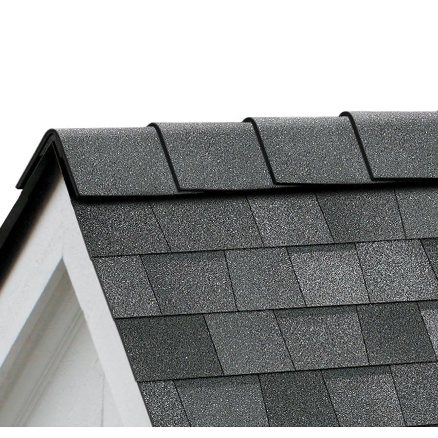 Owens Corning DuraRidge 20-lin ft Slatestone Gray Hip and Ridge Roof Shingles