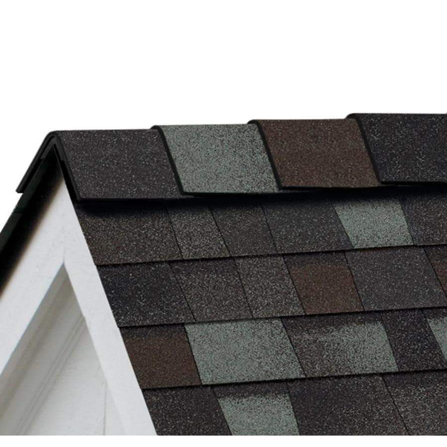 Owens Corning DuraRidge 20-lin ft Storm Cloud Hip and Ridge Roof Shingles
