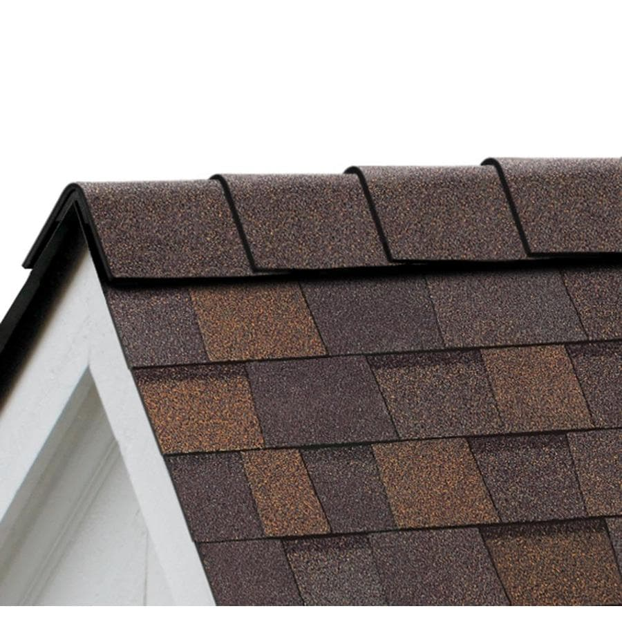 Owens Corning DuraRidge 20-lin ft Teak Hip and Ridge Roof Shingles