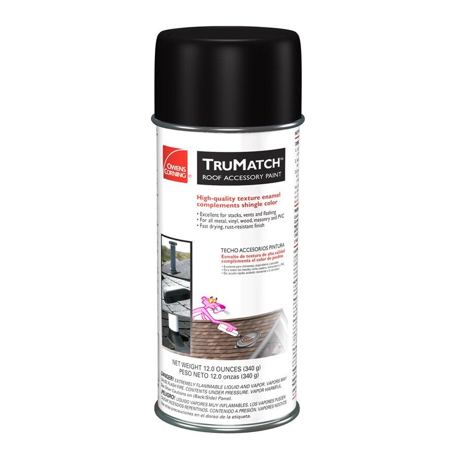 Owens Corning TruMatch Teak Rust Resistant Enamel Spray Paint (Actual Net Contents: 12-oz)