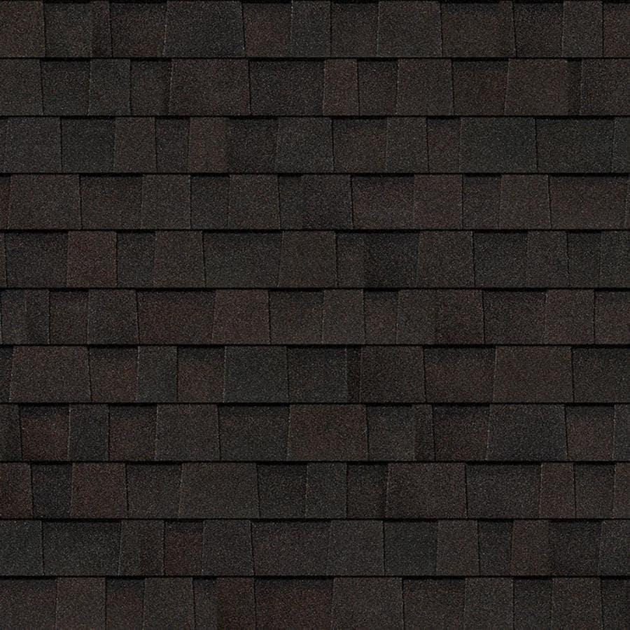 Owens Corning Oakridge 328 Sq Ft Black Walnut Laminated Architectural Roof Shingles
