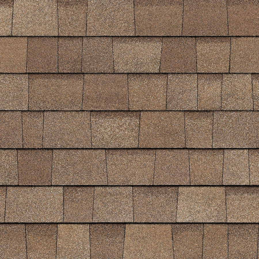 Owens Corning TruDefinition Duration Cool 32.8-sq ft Mojave Laminated Architectural Roof Shingles