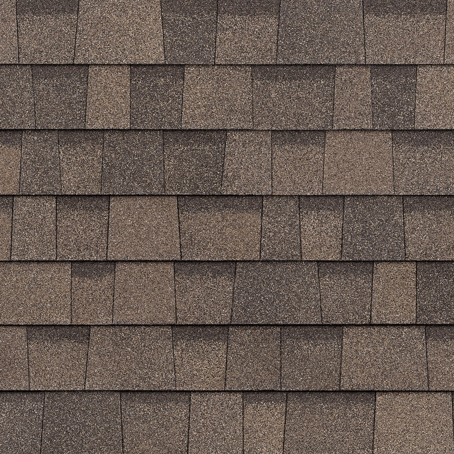 Owens Corning TruDefinition Duration Cool 32.8 Sq Ft Forest Brown Laminated  Architectural Roof Shingles
