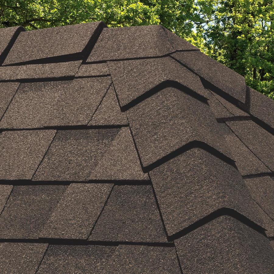 Owens Corning DecoRidge 20-lin ft Forest Brown Laminated Hip and Ridge Roof Shingles